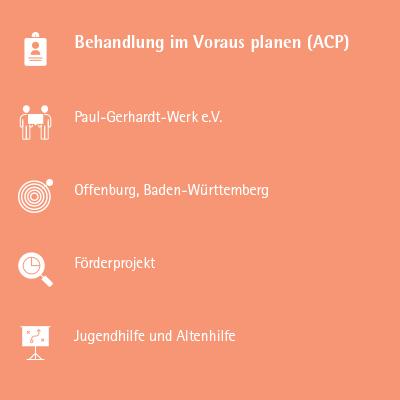 Behandlung im Voraus planen (ACP)