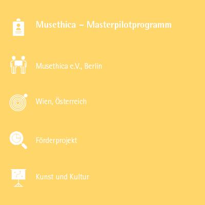 Musethica – Masterpilotprogramm