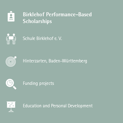 Birklehof Performance-Based Scholarships