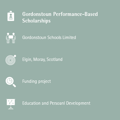 Gordonstoun Performance-Based Scholarships
