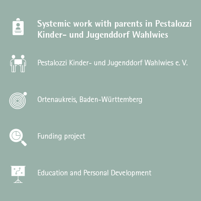 Pestalozzi – Systemic work with parents